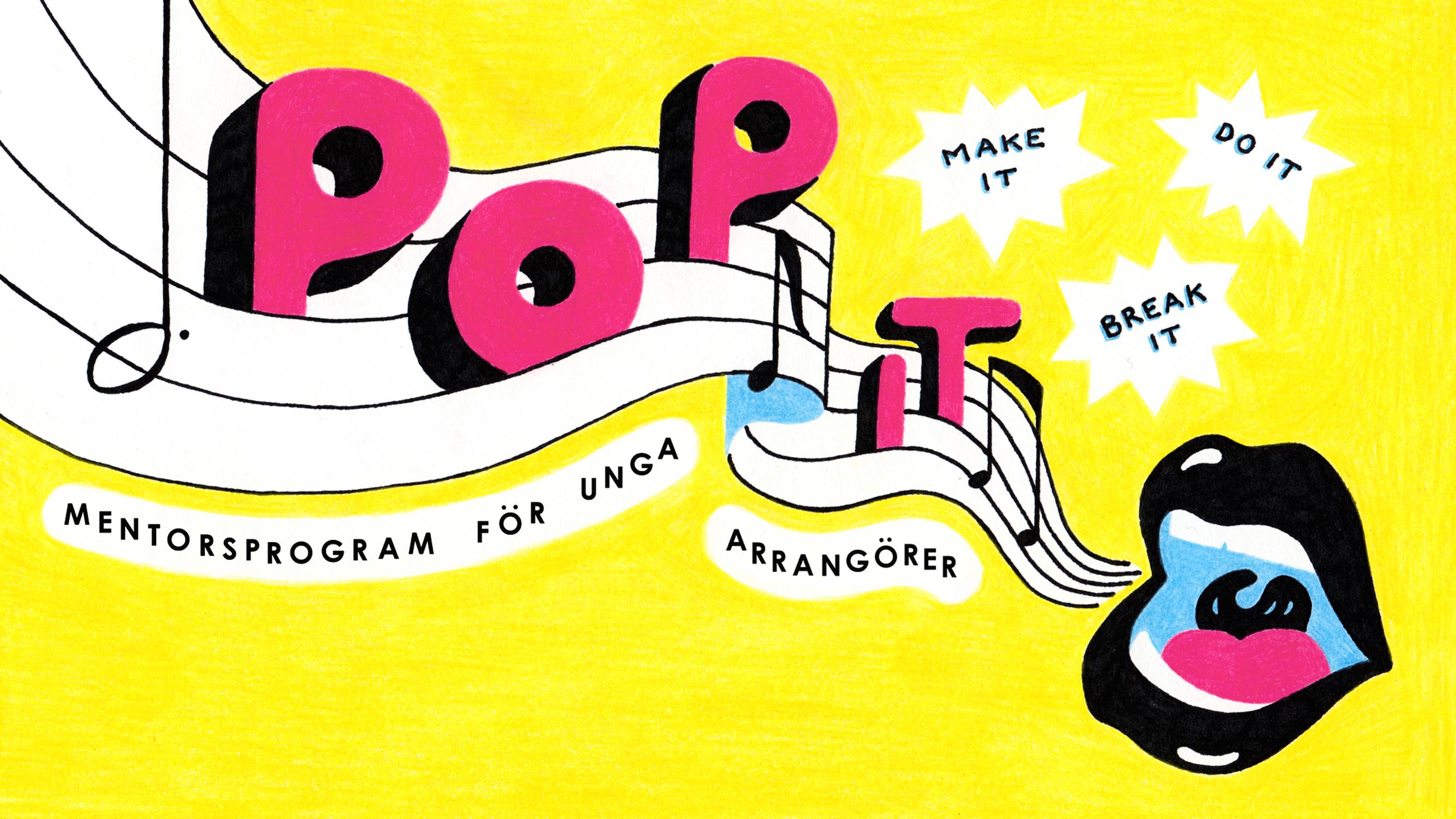 Mentorsprogram för unga arrangörer